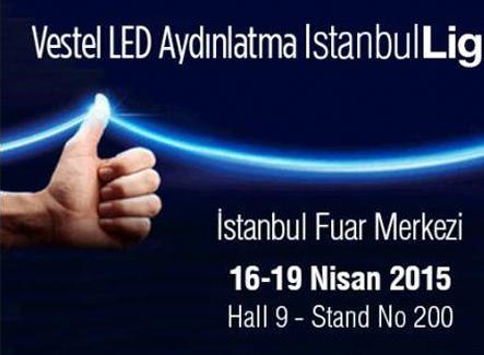 Vestel LED Aydınlatma İstanbulLight Fuarı'nda ziyaretçilerini bekliyor!