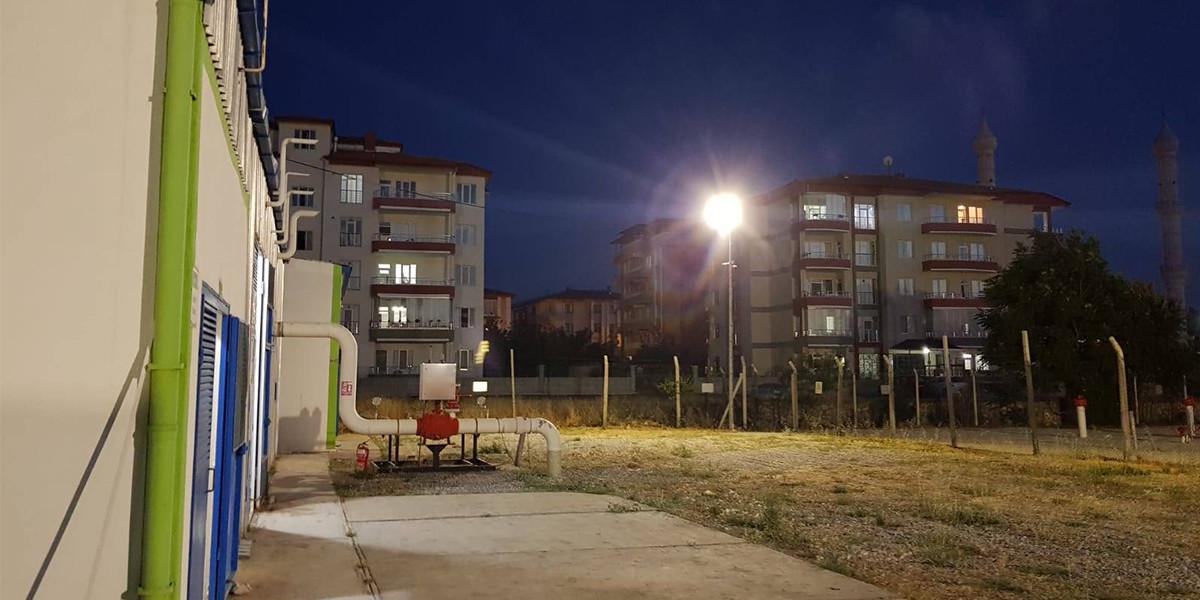 AKSA Doğalgaz dağıtım istasyonları Vestel ile aydınlanacak