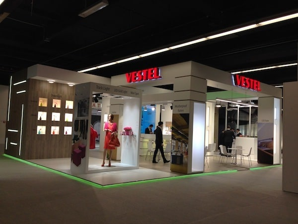 Vestel LED Aydınlatma Light&Building Fuarı'nda