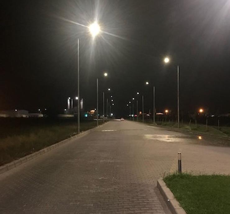 Akhisar OSB, VESTEL autodim kontrollü Sardes Sokak Armatürleri ile aydınlanıyor