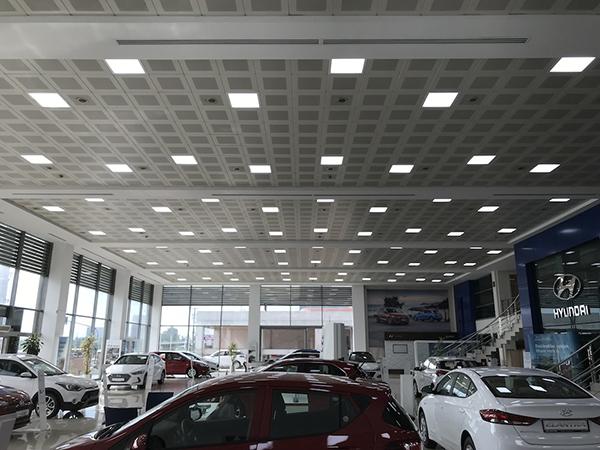 Hyundai Showroom Vestel LED Panel ile aydınlanıyor