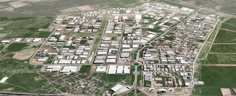 Konya Organize Sanayi Bölgesi, Sardes ile Aydınlanıyor