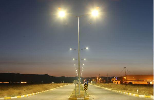 Vestel, yol aydınlatma'da bir pilot projeye daha imza attı: Kayseri