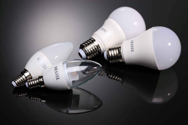 Vestel LED lambalar ile daha az tüketim daha çok aydınlatma